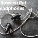 Halloween Rat Earphones