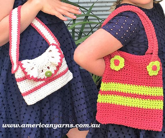 Girls Crochet Handbags