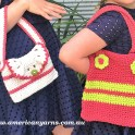 Girls Crochet Handbags