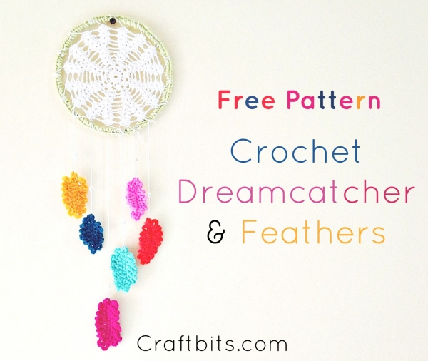 photo relating to Legend of the Dreamcatcher Printable called How In the direction of Create A Crochet Dreamcatcher