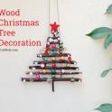Dry Twig Christmas Tree Decor