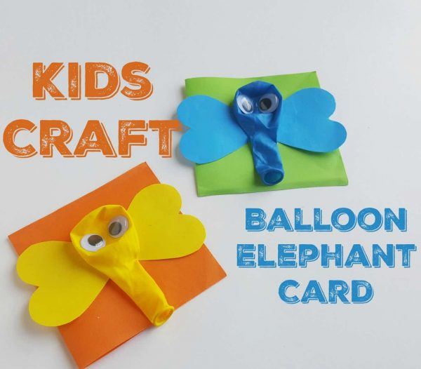make a balloon elephant