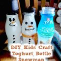 DIY Upcycled Snowman