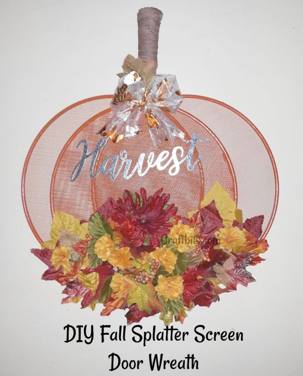 Fall Wreath – Harvest