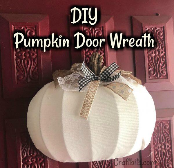 Fall Pumpkin Wreath Tutorial