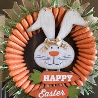 Easy DIY Easter Wreath