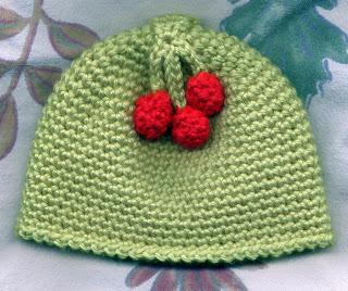 Crochet – Babies Cherry Beanie