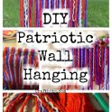 Patriotic Macrame Wall Hanging