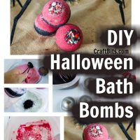 Halloween Bath Bombs Non Candy Fun