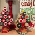 Kids Craft - Christmas Corks & Button Tree