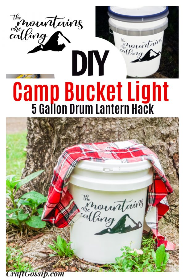 How To Make A Camping Light Up Bucket