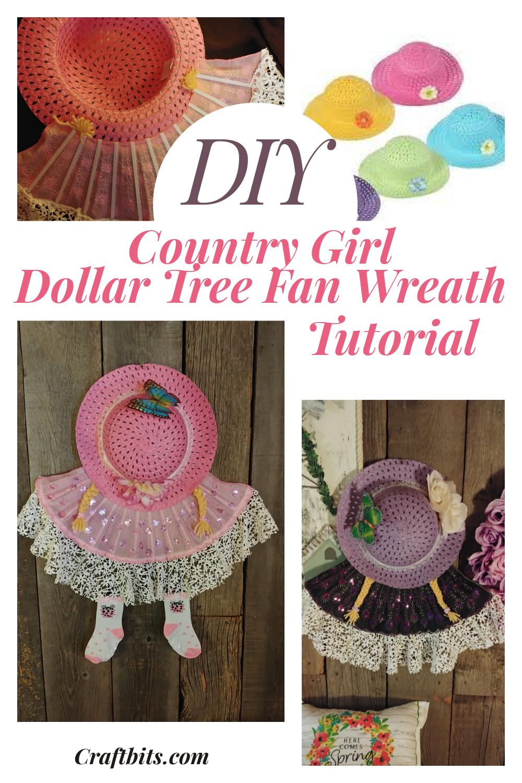 Dollar Tree Country Girl Wreath