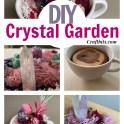 DIY Healing Crystal Garden