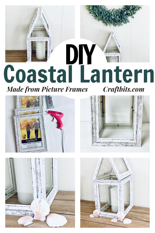 Dollar Tree – DIY Hampton's Coastal Beach Lantern