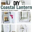 Dollar Tree - DIY Hampton's Coastal Beach Lantern