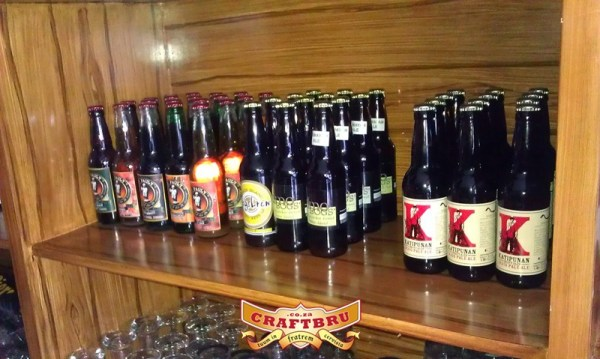 Global Beer Exchange's Philippines Craft Beer Shelf ft. Katipunan Craft Ales