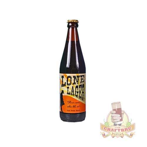 Inmind Brewing Company's Lone Larger. Craft Beer made in Joburg, Gauteng, South Africa