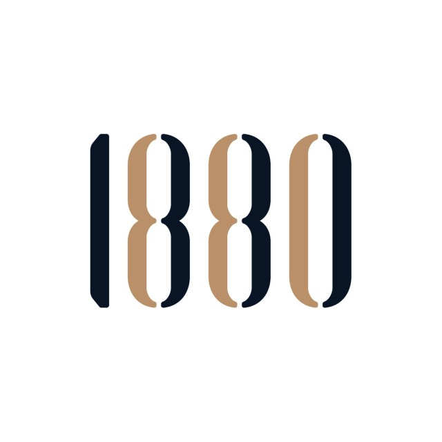 1880's logo. 1880 members' club is a client of Craft, a Public Relations Agency based in Singapore