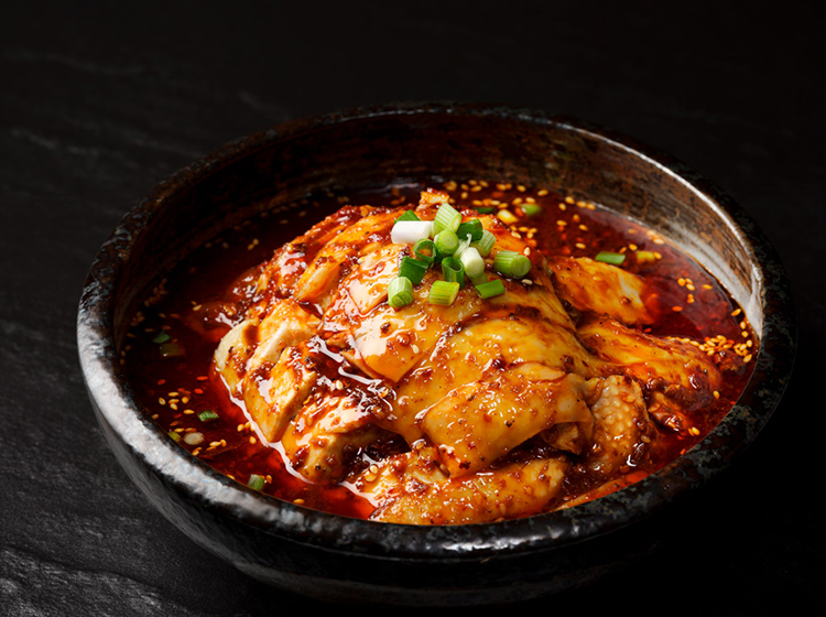 Staycation in Singapore at PARKROYAL on Beach Road hotel - Si Chuan Dou Hua restaurant serves up a delicious Mouthwatering Chicken (Salivating Chicken) 口水鸡