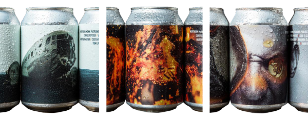 Northern Monk Patrons Project - Craft Beer can design by Tom Joy
