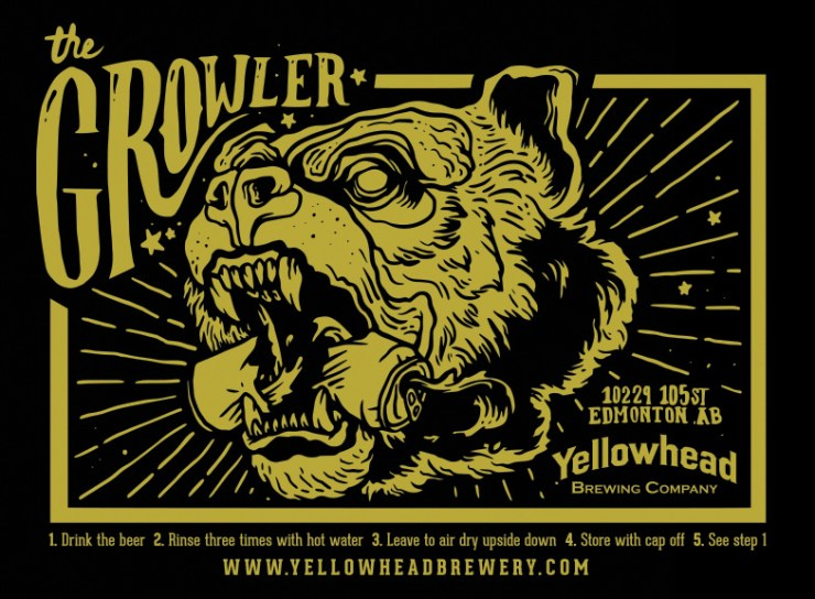Yellowhead Brewing Growler by Pete Nguyen