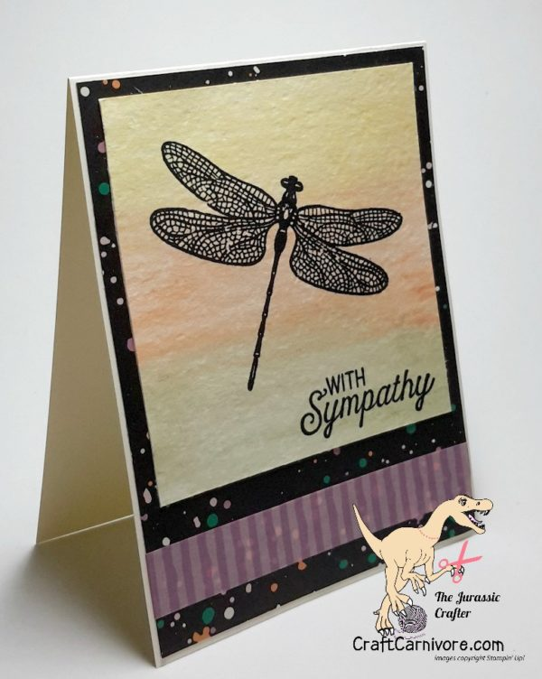 Dragonfly Dreams Sympathy Card