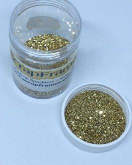 PC Gold glitter