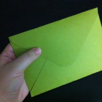 How to Make a Cardstock Envelope