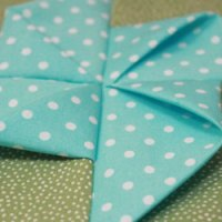 How to Make a 3D Pinwheel Quilt Block