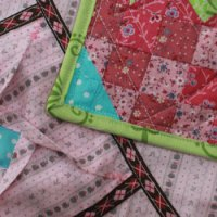 Fidget Quilt Block Week 4