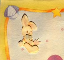 3-D Rabbit