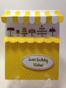 Yellow cake store