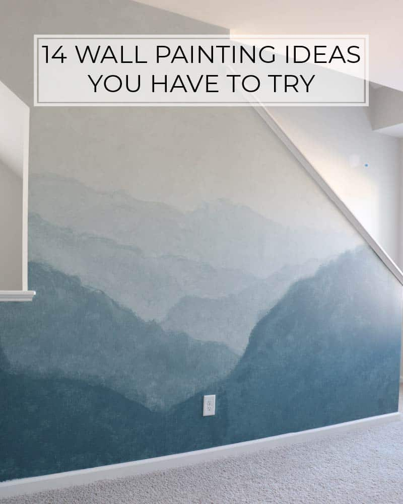14 Wall Painting Ideas You Have To Try While Staying At Home
