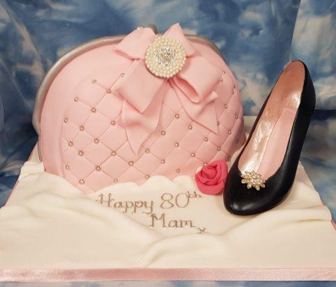 Handbag & Shoe Birthday Cake