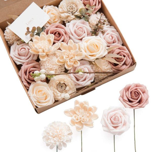 Dusty Natural Flower Stems