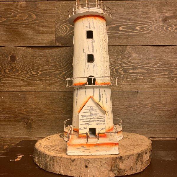 White Antique Lighthouse
