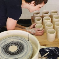 From Aqua-Woman to Ceramic Artist