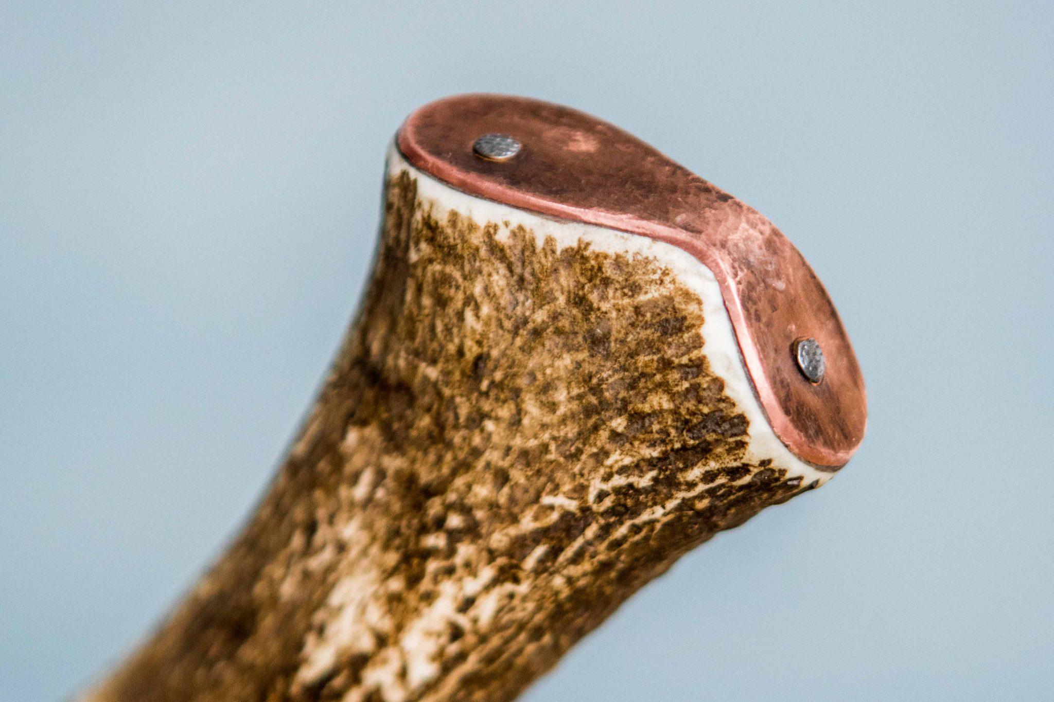 Lander Verschueren mes messen zelfgemaakt handgemaakt wapen smeden smid leer leren leder hoes schede jachtmesrr
