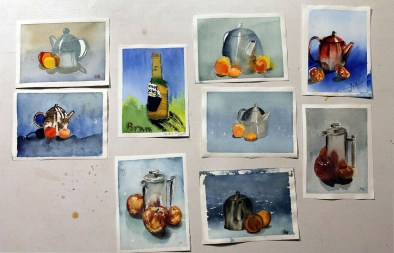 The final paintings!