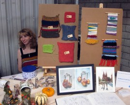 Our stall at the faire