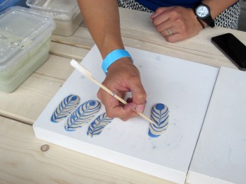 Studio Jie Chen, making ceramic wind chimes