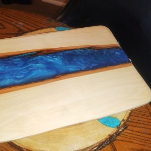 Resin and Wood Cutting Boards