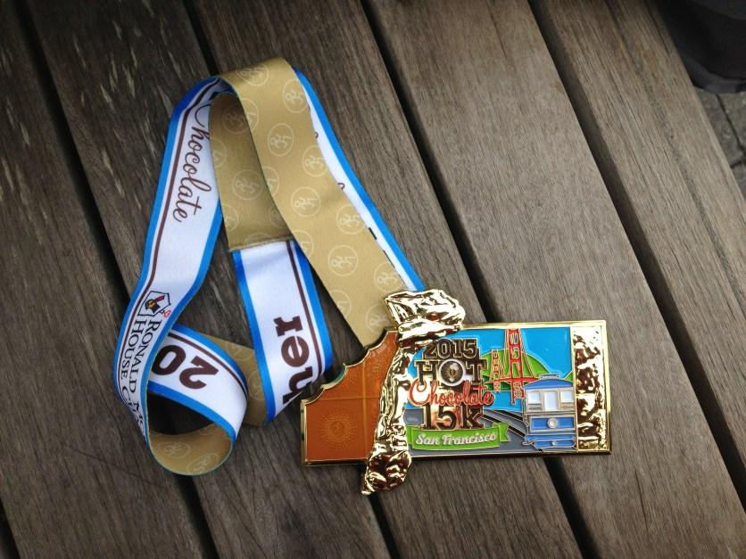 finisher medal.