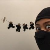 felt ninjas.