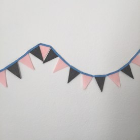 triangle bunting.