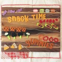 Snack times bites.