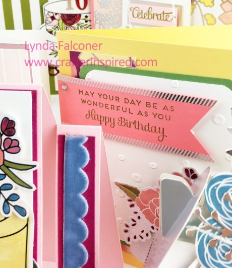 Sweet Soiree To Go Class by www.crafterinspired.com