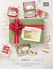 Cover of 2018 Stampin' Up Holiday Catalog