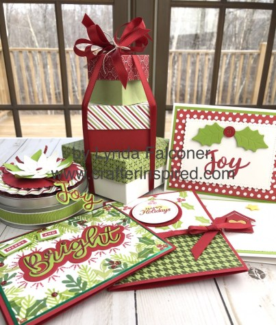 Make 7 projects in my Santa's Wow Workshop available until November 24 at www.crafterinspired.com/Santa