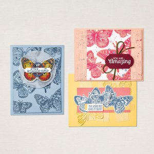 Cards from Butterfly Brilliance Stamp Set